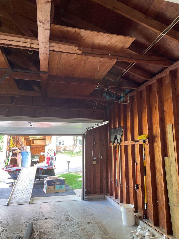 Interior Radon Mitigation System Installed in Minneapolis, MN - Before Photo