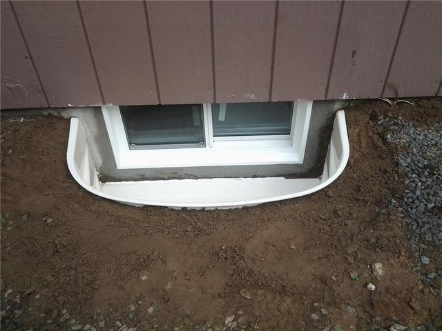 Old Egress Window and Well in Roseville, MN