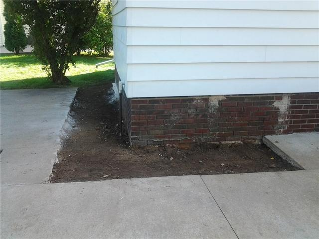 Sinking Foundation in Tomah, WI