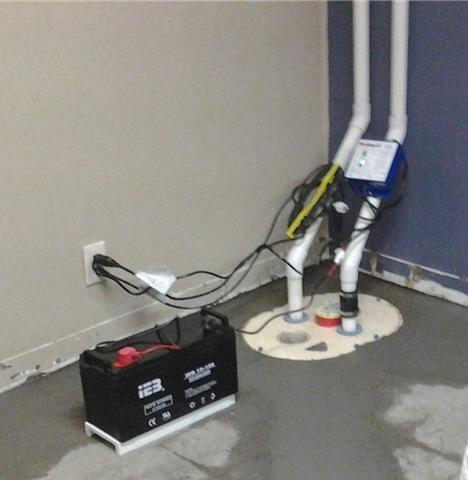 Experienced wet basement during heavy rains in Decorah, IA - After Photo