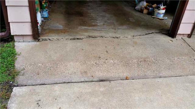 Cracked Garage Floor in Circle Pines, MN