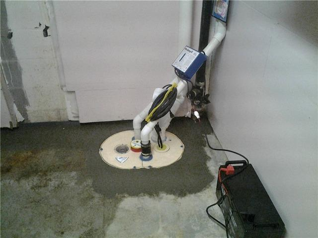 Sump Pump Replacement in Faribault, MN.