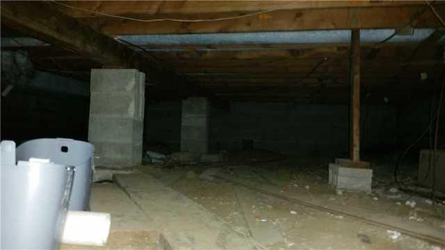 HVAC system crawlspace cleaned up in Hudson, WI