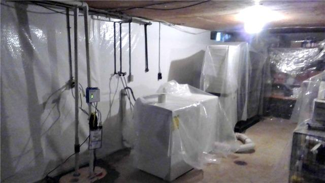 Duo Wet Basement Solution in Charles City, IA