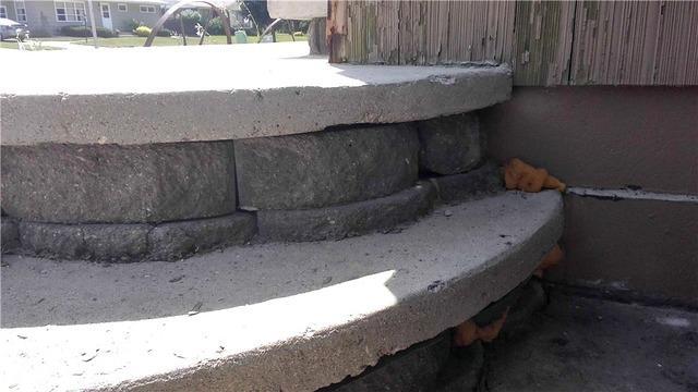 Sunken Patio Causes Staircase Void in Worthington, MN