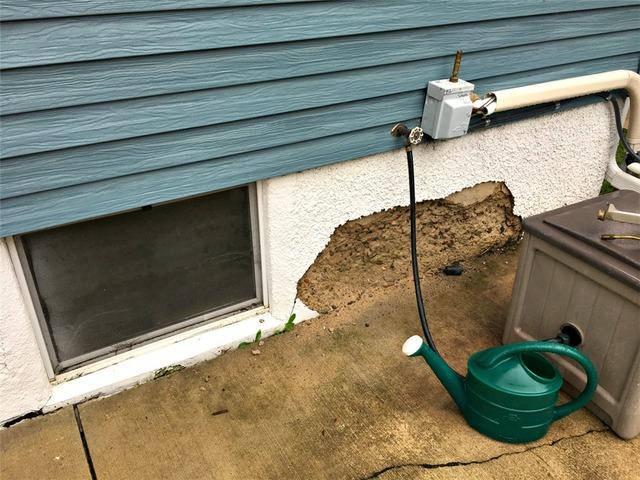 Exterior Foundation Deterioration in Austin, MN