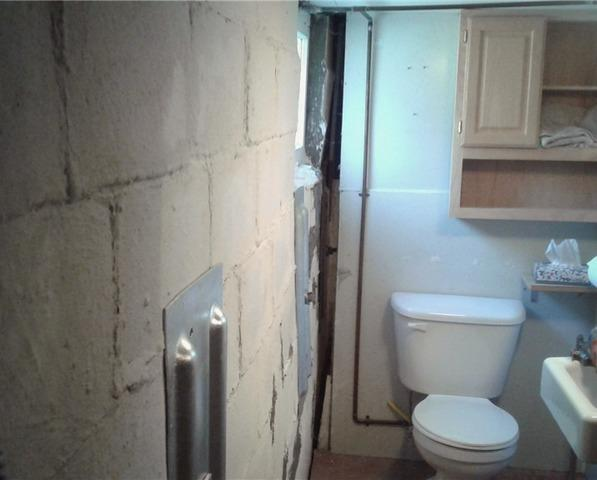 Bowed Foundation Wall in Fairmont, MN