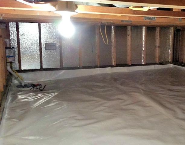 Wet Crawl Space in Maple Grove, MN