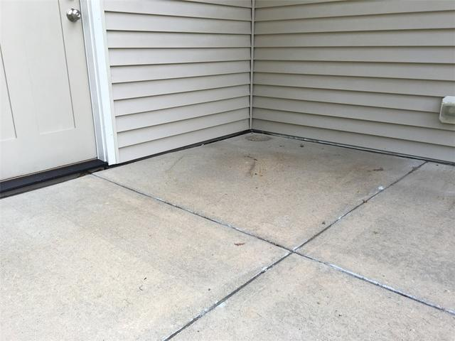 Settled Concrete Patio in Chatfield, MN