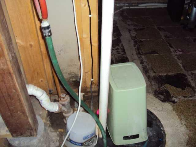 Failed Sump Pump in West Union, IA