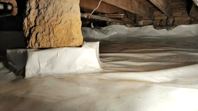 Crawl Space Waterproofing in Plainview, MN