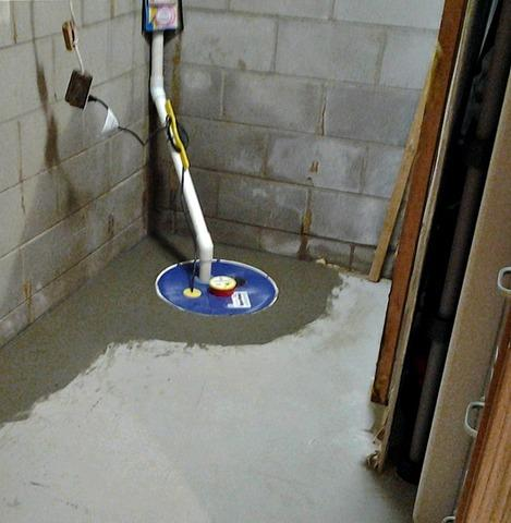Wet Basement in Cottage Grove, MN