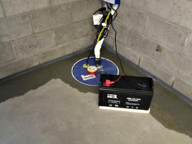 Wet Basement in Peterson, MN