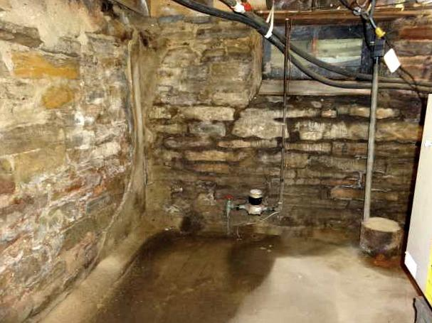 Water Seeping into Basement in Nerstrand, MN