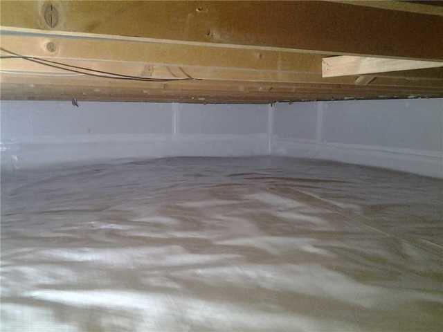 Crawl Space Transformation in Rochester, MN