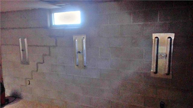 Bowing Basement Wall Repaired in New Ulm, MN