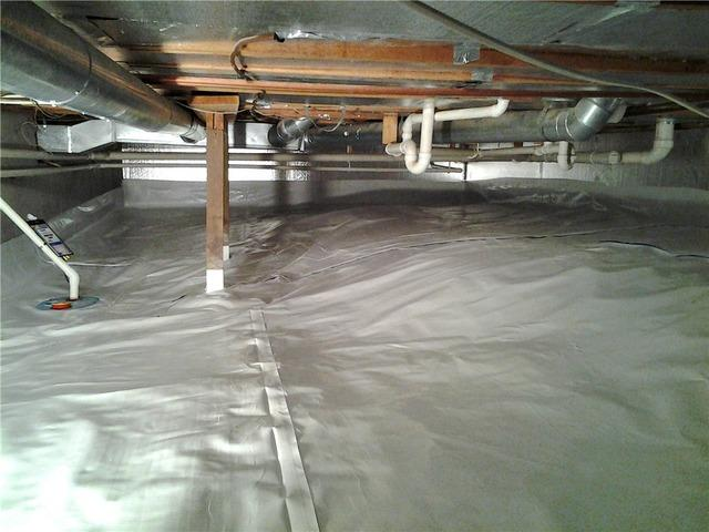 Crawl Space Waterproofing in Mindoro, WI