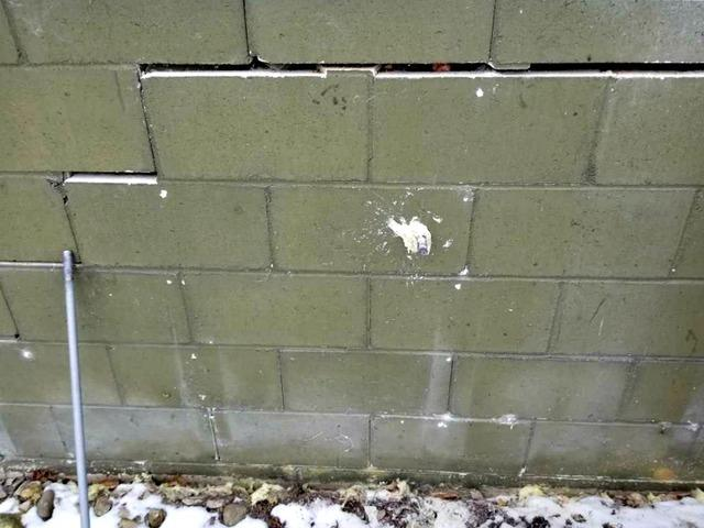 Cracked Bowing Garage Wall in Oronoco, MN