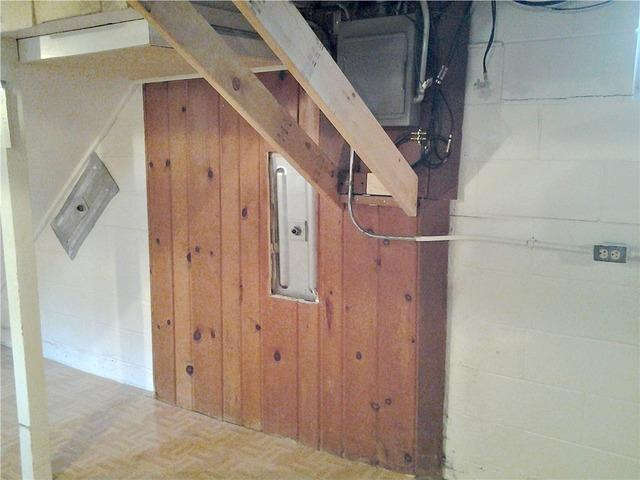 Bowing Basement Wall Stabilized in Minneapolis, MN