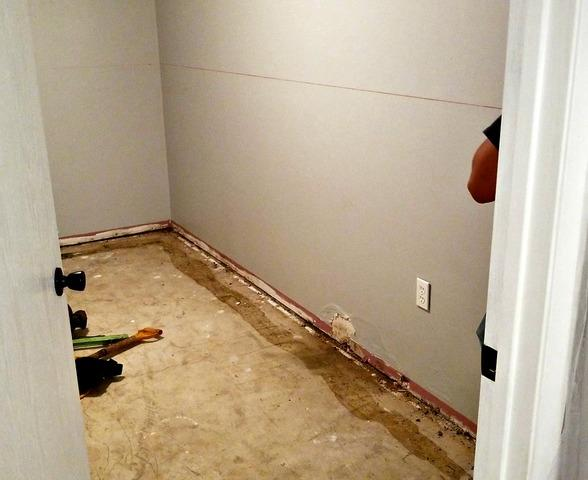 Wet Basement Restored in Rochester, MN
