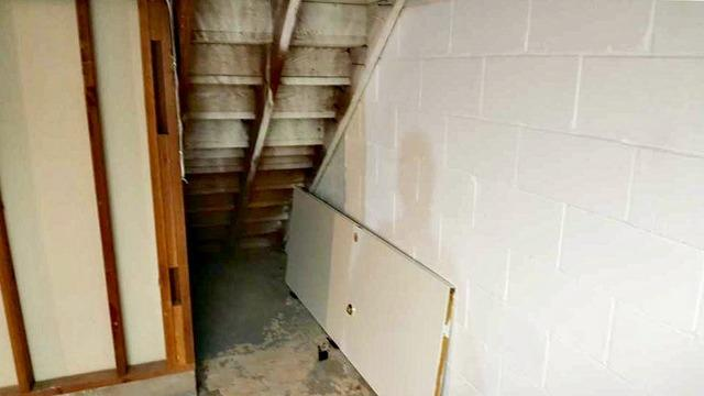 High Levels of Radon Mitigated in Champlin, MN - Before Photo