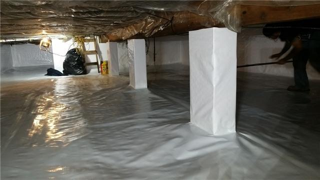 Dirt Crawl Space Encapsulated in Elkton, MN
