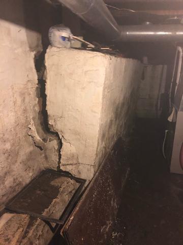 Severely Damaged Foundation Restored in Mason City, IA