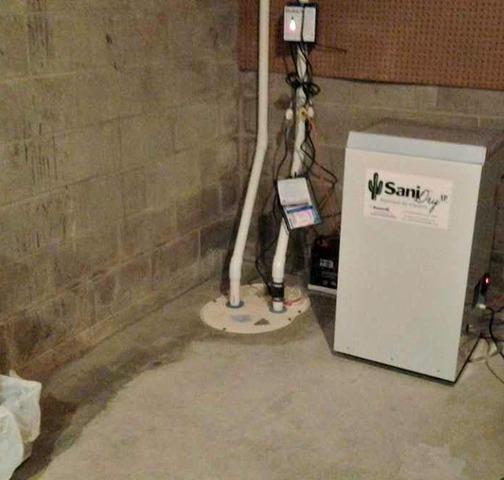 Wet Basement Restored in Lansing, IA