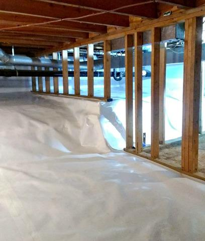 Dirt Crawl Space Gets Encapsulated in Saint Paul, MN