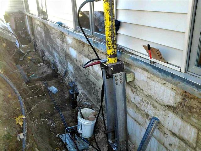 Settling Foundation Problem in Janesville, MN