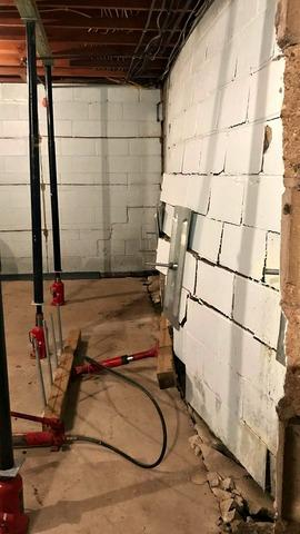 Severely Damaged Foundation Restored in Rochester, MN