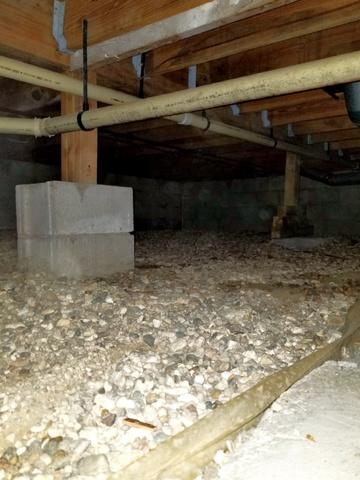 Crawl Space Structural Repair in Rochester, MN