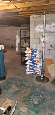 Wet Basement Transformed in Hastings, MN