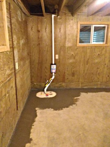 Wet Basement Restored in Bricelyn, MN