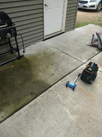 Sunken Patio Repaired in Harpers Ferry, IA