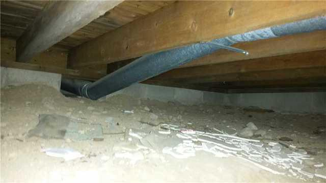 Dirt Crawl Space Encapsulated in Dresser, WI