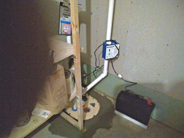 TripleSafe Sump Pump Installed in Loretto, MN