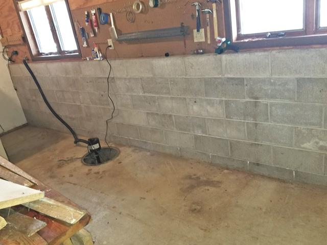 Wet Basement Waterproofed in Taylor, WI