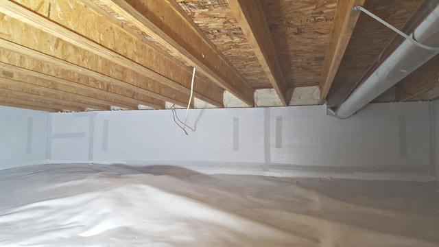 Crawl Space Transformation in Onalaska, WI