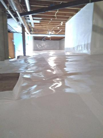 Crawl Space Encapsulation in Forest Lake, MN