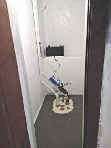 Wet Basement Restored in Mason City, IA