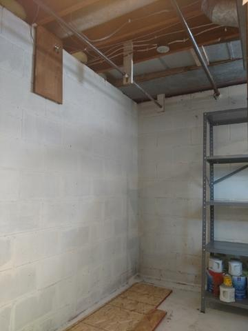 Radon Detection and Mitigation in Lake City, MN - Before Photo