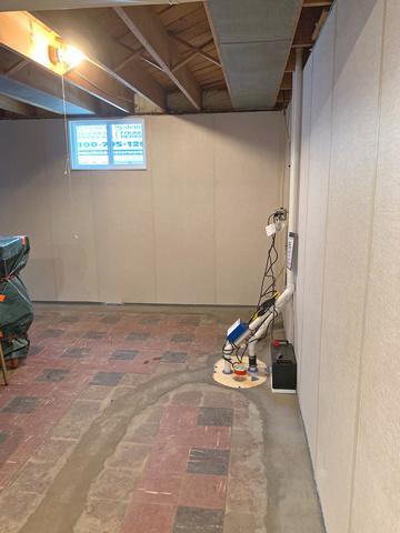 Wet Basement Restored in La Crosse, WI