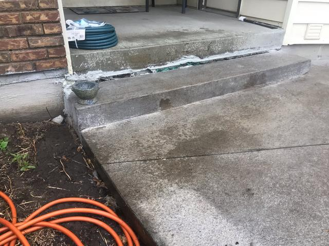Sunken Concrete Raised in Montgomery, MN