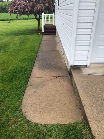 PolyLevel Lifts and Restores Concrete in Nelson, WI