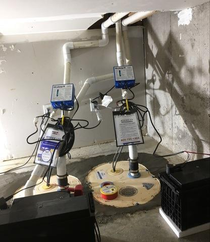 Upgraded Sump Pumps Keep Basement Dry in Hamel, MN