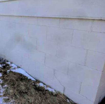 Wall Anchors Support Home in Morristown, MN
