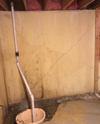 Leaking Basement Repaired in Rose Creek, MN