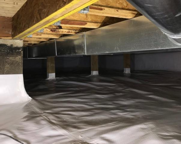 Crawl Space Waterproofing in Rushmore, MN