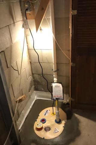 Leaking Basement Repaired in Rushmore, MN